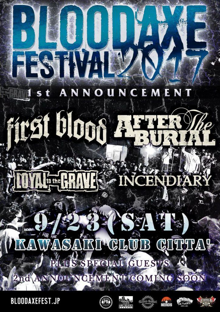 BLOODAXE FESTIVAL 2017