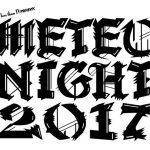 METEO NIGHT 2017 開催決定!8/5~6