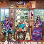 FOUNTAINSUN (member of LUNGFISH) JAPAN TOUR 2017 5/14~