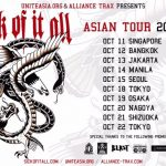 SICK OF IT ALL(from NY) Japan tour 10/18~