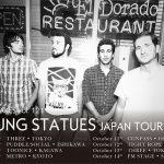 フィラデルフィアのインディ/EMOバンド Young Statues 再来日!10/6~